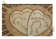 Love Song Of Our Hearts Carry-all Pouch