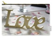 Love Word At A Wedding Carry-all Pouch