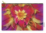 Loveflower Orangered Carry-all Pouch