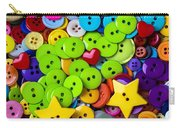 Lovely Buttons Carry-all Pouch