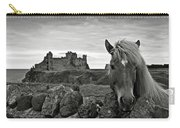 Lovely Horse And Tantallon Castle Carry-all Pouch
