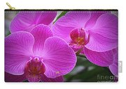 Lovely In Purple - Orchids Carry-all Pouch