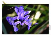 Lovely Iris Carry-all Pouch