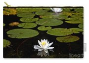 Lovely Pond Lily Carry-all Pouch