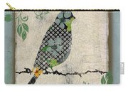 Lovely Song Bird-a Carry-all Pouch