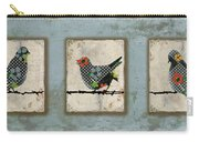 Lovely Song Bird Trio -1 Carry-all Pouch