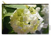 Lovely White Hydrangea Carry-all Pouch