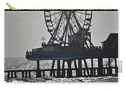 Lovers And A Surfer At Pleasure Pier Carry-all Pouch