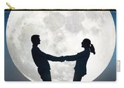 Lovers And Full Moon Carry-all Pouch