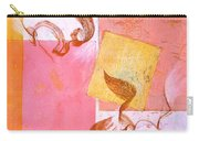 Lovers Dance 2 In Sienna And Pink  Carry-all Pouch