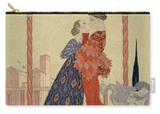 Lovers On A Balcony  Carry-all Pouch