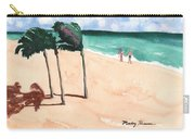 Lovers On The Beach Carry-all Pouch