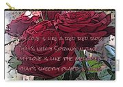 Lover's Roses Carry-all Pouch