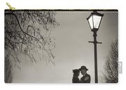 Lovers Say Goodbye Under A Streetlamp Carry-all Pouch