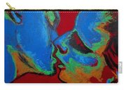 Lovers - Tender Kiss Carry-all Pouch