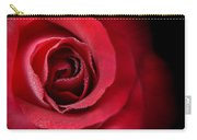 Love's Eternal Red Rose  Carry-all Pouch