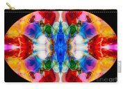 Loving Wisdom Abstract Living Artwork Carry-all Pouch