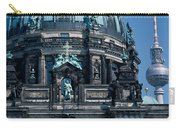 Low Angle View Of A Church, Berliner Carry-all Pouch
