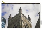 Low Angle View Of A Church, Trinity Carry-all Pouch