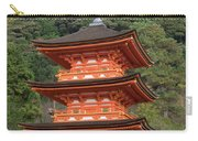 Low Angle View Of A Small Pagoda Carry-all Pouch