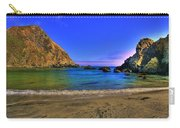 Low Tide At Big Sur Carry-all Pouch