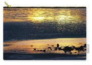 Low Tide Gold Carry-all Pouch