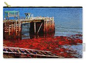 Low Tide - Red Seaweed - Fishing - Moratorium Carry-all Pouch