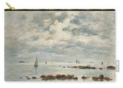 Low Tide Saint Vaast La Hougue Carry-all Pouch