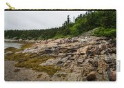 Low Tide - Walking On The Bottom Of Saint Lawrence River Carry-all Pouch