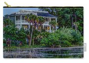 Lowcountry Home On The Wando River Carry-all Pouch