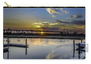Lowcountry Marina Sunset Carry-all Pouch