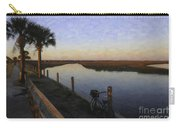 Lowcountry Winter Marsh Carry-all Pouch