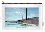 Lowell Massachusetts - Mills On The Merrimack River - 1910 Carry-all Pouch