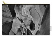 Lower Antelope Glow Black And White Carry-all Pouch