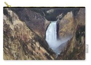 Lower Falls Of The Yellowstone River Carry-all Pouch