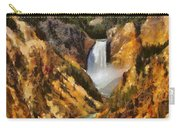 Lower Falls Yellowstone Carry-all Pouch