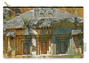 Lower-level Tomb In Myra-turkey Carry-all Pouch