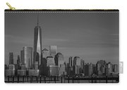 Lower Manhattan Skyline Bw Carry-all Pouch