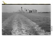 Lower New York In Black And White Carry-all Pouch