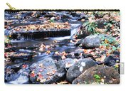 Lower Part Of Munising Falls Carry-all Pouch