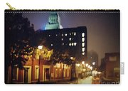 Lower Water Street In The Fog Halifax Nova Scotia Carry-all Pouch