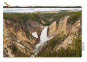 Lower Yellowstone Canyon Falls Carry-all Pouch