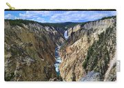 Lower Yellowstone Falls Panorama Carry-all Pouch