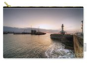 Lowestoft Harbour At Dawn Carry-all Pouch