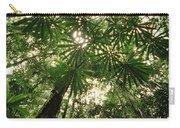 Lowland Tropical Rainforest Fan Palms Carry-all Pouch
