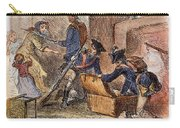 Loyalist Home, 18th C Carry-all Pouch