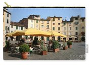 Lucca Piazza Del Mercato  Carry-all Pouch