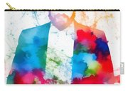 Luciano Pavarotti Paint Splatter Carry-all Pouch