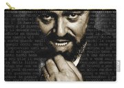 Luciano Pavarotti Carry-all Pouch