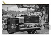Lucky Dogs In Jackson Square Nola Bw Carry-all Pouch